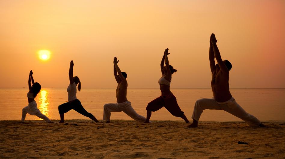 Entrenamientos de yoga