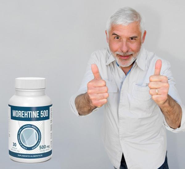 Morethine 500 cápsulas, ingredientes, cómo tomarlo, como funciona, efectos secundarios